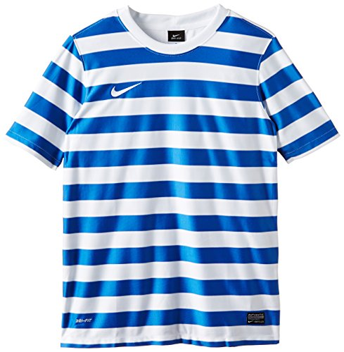 Nike Short Sleeve Top  Ss Hoop Iii Game Jersey Royal Blue/White