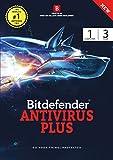 #6: Bitdefender Antivirus plus Latest Version - 1 User-3 years-(Voucher)