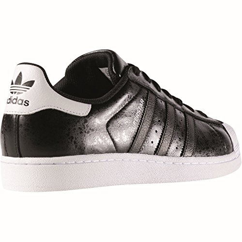adidas Herren Superstar Sneakers, Blau, 38 EU Schwarz