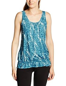 Puma, Canotta da allenamento Donna Bubble, Blu (Blue Coral-Tapestry Blue), M