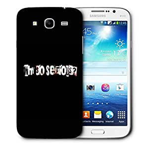 Snoogg Why So Serious Designer Protective Back Case Cover For Samsung Galaxy Mega 5.8