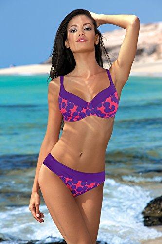 Feba Figurformender Damen Bikini Elena Muster-24DK