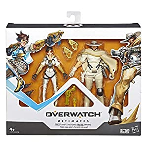 Overwatch- Chili and Mango Mccree y Posh Tracer, Multicolor (Hasbro E6771ES0)