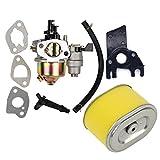 OuyFilters Reemplazo Carburador con Filtro de Aire para Honda Gx140 Gx160 Gx200 5.5hp 6.5hp Motor Generador Césped Motor