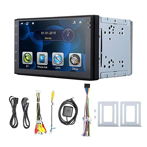 Auto-Stereo-Player, Universal 7-Zoll-Audio-Auto-Stereo-Player für Android 8 Core 8.1-System mit GPS-Navigation (4 + 32) - Auto Für Audio-gps-system