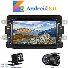 Android 8.0 Autoradio, Hi-azul 1 DIN 7