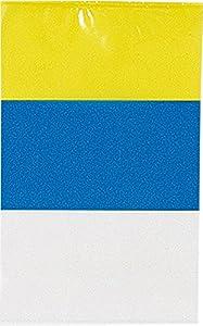 Verbetena - Bandera plástico Canarias 20x30 cm, bolsa 5x10 metros (011200066)