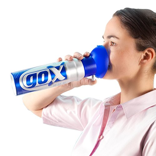 GOX - 6 Liter Dosen Reinsauerstoff zur Erhöhung Energie. Ideal für Zuhause, Reisen, Sport-Verwendung