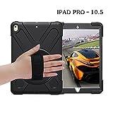 Apple iPad Pro 10.5 Hülle silikon,iPad Pro 10.5 Tasche 2017,Roreikes 3 Schicht Hybrid Heavy Duty Shockproof Rutschfeste
