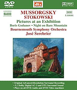Pictures At An Exhibition (Serebrier, Bournemouth So) [DVD AUDIO]