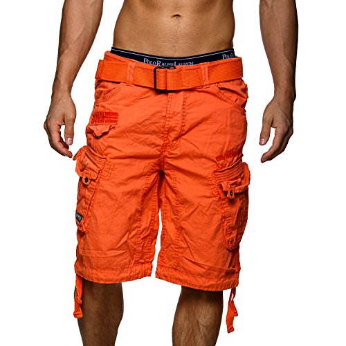 Geographical Norway Herren Bermuda People Orange Gr. L