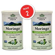 Organic India Moringa Powder 100gm Pack of 2