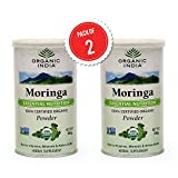 Organic India Moringa Powder 100gm Pack of 2