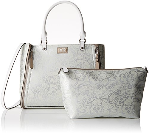 Y NOT? K-45, Sac cabas Multicolore (Silver-Cool5)