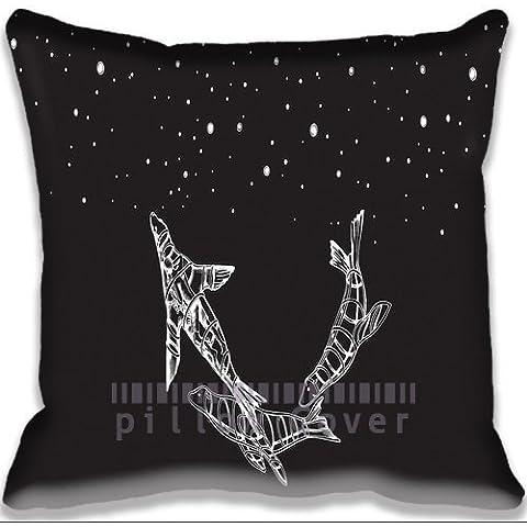 music Coldplay Ghost Stories Album Pillowcase/Fundas para almohada Fashion Indoor/Outdoor Sofa Couch Throw Pillow case/Fundas para almohada Special Funny Pattern Pillowcase/Fundas para almohada