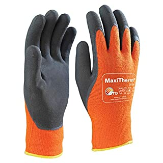 ATG 30-20110B Maxitherm Palm Coated Knitwrist Gloves Size 10
