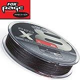 Fox Rage Pro x8 120m grau - geflochtene Angelschnur zum Spinnangeln auf Hechte, Zander & Barsche, Schnur zum Spinnfischen, Durchmesser/Tragkraft:0.16mm / 33lbs / 15kg Tragkraft