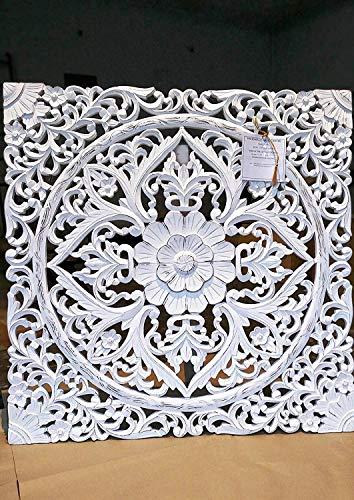 Desconocido Panel de Pared Tallado/separadores de habitación y Pantallas y Paneles Cuadrados 60 x 60 cm....