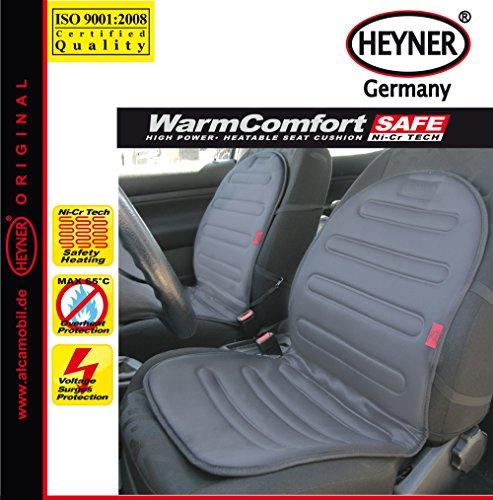 Premium Auto-Sitzauflage beheizbar 12V grau