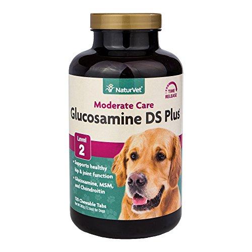 Naturvet Glucosamin Chondroitin Msm Doppel Stärke Hüft- Und Gelenk Dog Cat 120 Register