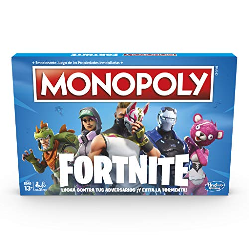 Monopoly Fortnite Versión Española Hasbro E6603105