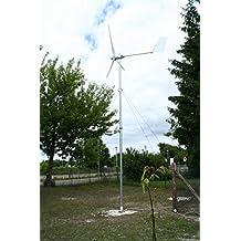 Windkraftanlage 1000 W, 1kW Komplett Set - Windturbine WKA 1 000