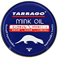 Tarrago Mink Oil Cream - Waterproofs, Preserves and Conditions Smooth, Oiled and Synthetic Leather - Act as Conditioner, Softener, Weather Protector for Shoes, Boots, Handbags and More, Colourless