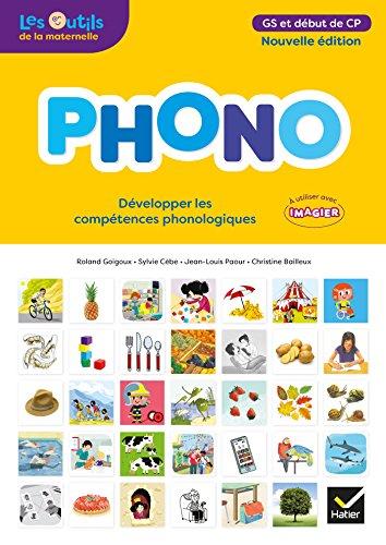 PHONO Maternelle GS - Éd.2018 - Guide pédagogique par Sylvie Cèbe