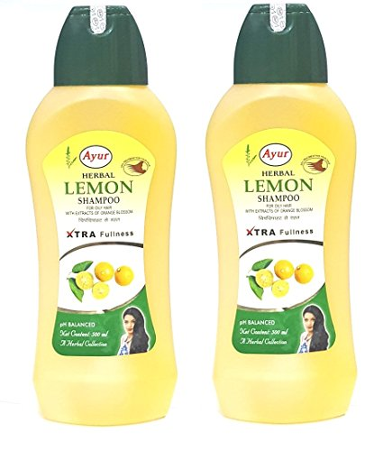 Ayur-Herbals-Lemon-Shampoo-For-Oily-Hair-500ml-Pack-of-2-with-Ayur-Product-in-Combo