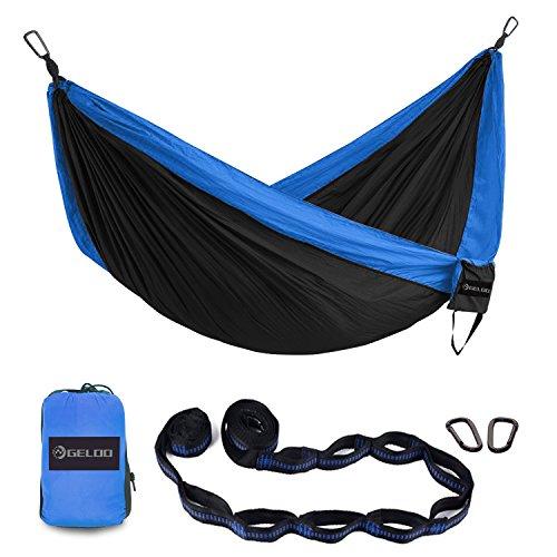 Sports & Entertainment Rapture 200*80cm Nylon Single Hammock Camping Hunting Hammock With Tie Ropes