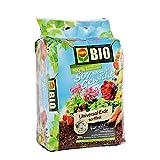 COMPO BIO Universal-Erde torffrei ca. 50% weniger Gewicht mit Schafwolle, hochwertige BIO Blumenerde,  30 L
