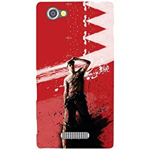 Via flowers Sight Up Matte Finish Phone Cover For Sony Xperia M