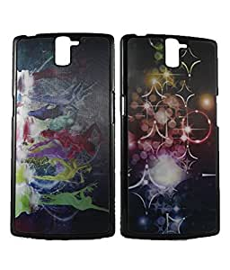 Exclusive 3D Design Effect Hard Back Case Cover For OnePlus One / One Plus One 1+ - Dancing Lady