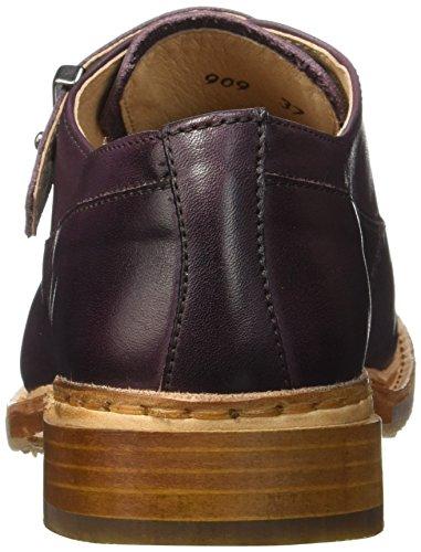 Neosens Hondarribi 909, Cheville Chaussures Lacées Femme Violet (Prune)
