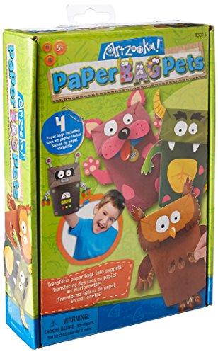 Artzooka Paper Bag Puppets (Paper Bag Puppet)