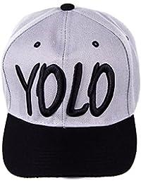 casquette de baseball bonnet chapeau YOLO Snapback hip hop - disponibles en plusieurs couleurs
