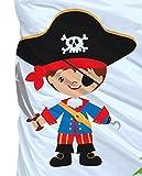 Aminata Kids Kinder-Bettwäsche 100-x-135 cm Pirat-en Piraten-Schiff Schatz Toten-Kopf-Flagge Baby-Bettwäsche 100-% Baumwolle Renforce Bunte hell-blau Junge-n Wende-Bettwäsche für Aminata Kids Kinder-Bettwäsche 100-x-135 cm Pirat-en Piraten-Schiff Schatz Toten-Kopf-Flagge Baby-Bettwäsche 100-% Baumwolle Renforce Bunte hell-blau Junge-n Wende-Bettwäsche