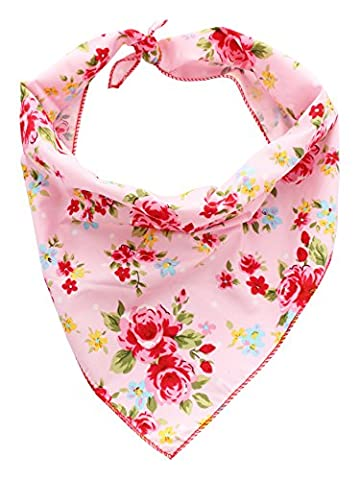Pet Pooch Boutique Vintage Bandana for Dog, Medium/Large,