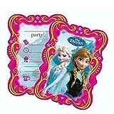 Einladungskarten | 6 Stück | Disney Eiskönigin | Frozen | Party Geburtstag