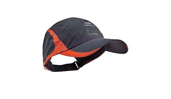 c4838584648 DECATHLON KALENJI RUNNING CAP GREY-RED  Amazon.co.uk  Sports   Outdoors