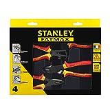 Stanley 4-84-489 Alicates, Red//ellow, Set de 4 Piezas