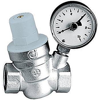 """Thermador R53320M  Réducteur de pression 3/4"""" avec manomètre"""