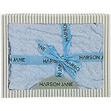 Harson&Jane Suave forro polar unisex Baby Bubble Wrap Swaddle Blanket Albornoz pañales para bebé recién nacido 80 x 110cm