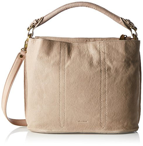 Marc O'Polo - 70117431201102 Eight, Borsa a spalla Donna Bianco (Cream)