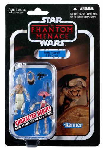 Star Wars the Vintage Collection VC # 77 - Ratts Tyerell & Pit Droid