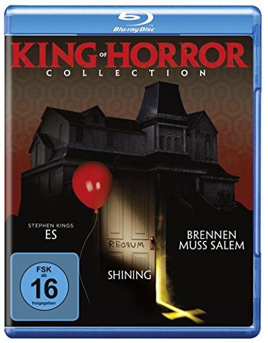 King of Horror Collection - Stephen Kings's Es, Shining und Brennen muss Salem in einer Box (exklusiv bei Amazon.de) [Blu-ray] (Brennen Von Blue Ray)
