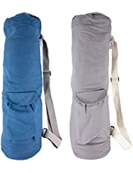 Limber Stretch Bolsa para Yoga Mat - Extra Larga con bolsillos 28x8