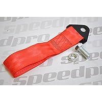 Fijo Remolque Ojo strap/loop Rojo (MSA cumple) race/rally/competition coche