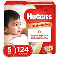 Huggies Little Snugglers Diapers, Size 5, 124 Count (Packaging May Vary) by Huggies preisvergleich bei billige-tabletten.eu