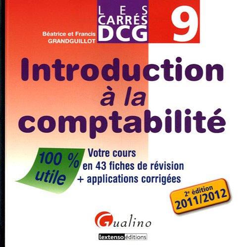 Introduction à la comptabilité DCG 9 :...